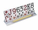 10 inch Card Holders Set of 4 with Low Vision Playing Cards