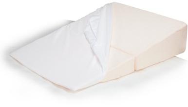 contour folding wedge pillow case