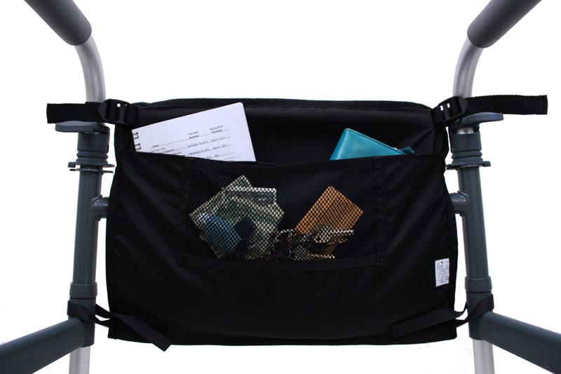 Front Mount Large Walker Bag Multiple Pockets For