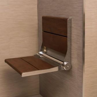 SerenaSeat 18 inch Fold Away Shower Seat. Folding Chairs For The Shower. Home Design Ideas