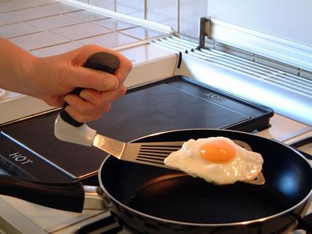 Easi grip spatula adapted kitchen spatula for - Instrumentos de cocina ...