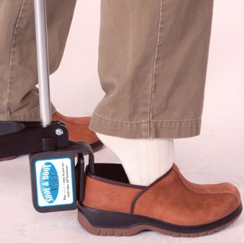 Shoe Boot Valet Dressing Aid Long Handle Shoe Helper