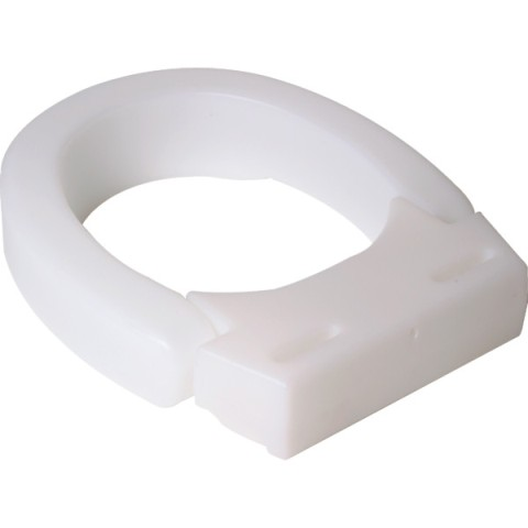 Hinged Elevated Toilet Seat 3 Inch High Rise Allows
