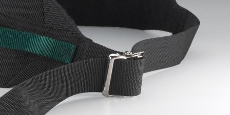 Posey Six Handle Gait Belt With Metal Buckle Patient