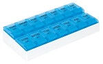 Apex 7-Day AM-PM  Push-to-Open Pill Organizer