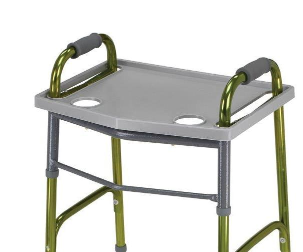 Essential Walker Tray with Cup Holders
