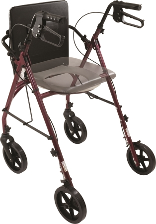 Free2go Rollator Combination Rollator Walker And Raised