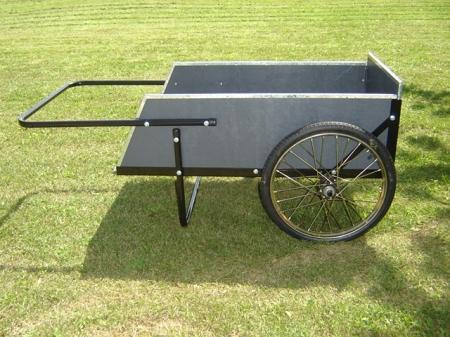 Mid West Wooden Garden Utility Cart