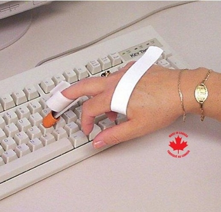 Hand-Clip-Typing-Aid