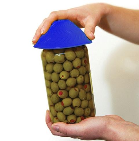Tenura Jar Opener Non Slip Silicone Jar Opener For Weak