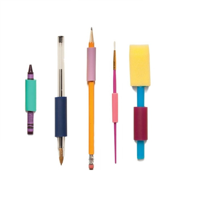 The Gripper Assorted Sizes Package Of 14 Vinyl Grippers