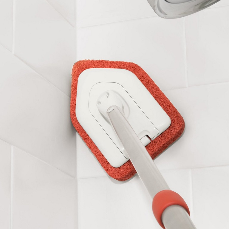 Oxo Good Grips Extendable Tub Amp Tile Scrubber Long