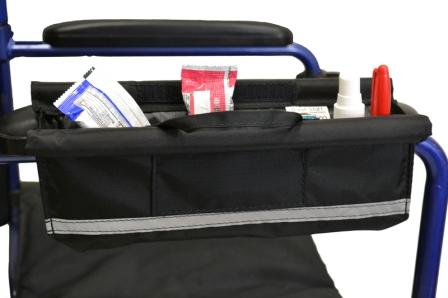 Arm Rest Pocket Bag For Wheelchairs Scooters