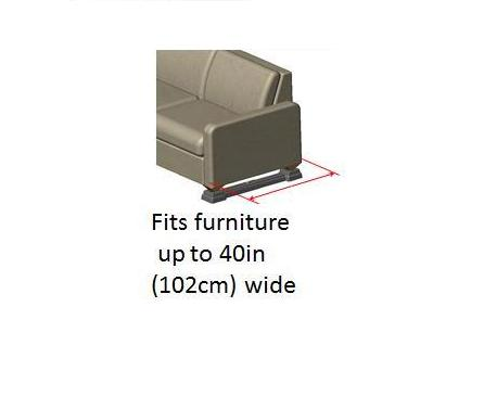 Ezer Up Adjustable Furniture Risers Elevate Sofas Chairs Couches 3 Inches High