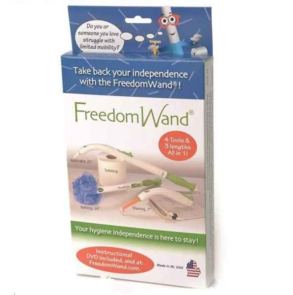 Freedom Wand Toileting Aid