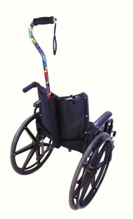 Cane Carrier Bag for Wheelchairs and Scooters