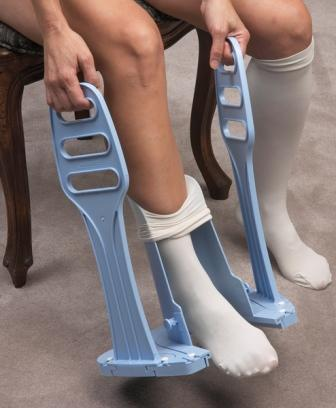 Compression Stocking Aids