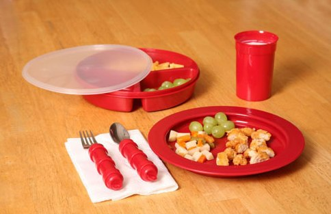 Redware Tableware :: for Alzheimer's patients