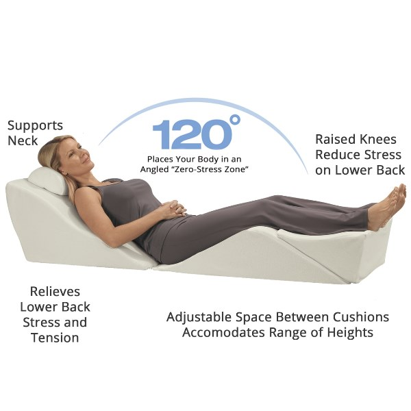 Contour BackMax Foam Wedge Pillow System - Discontinued