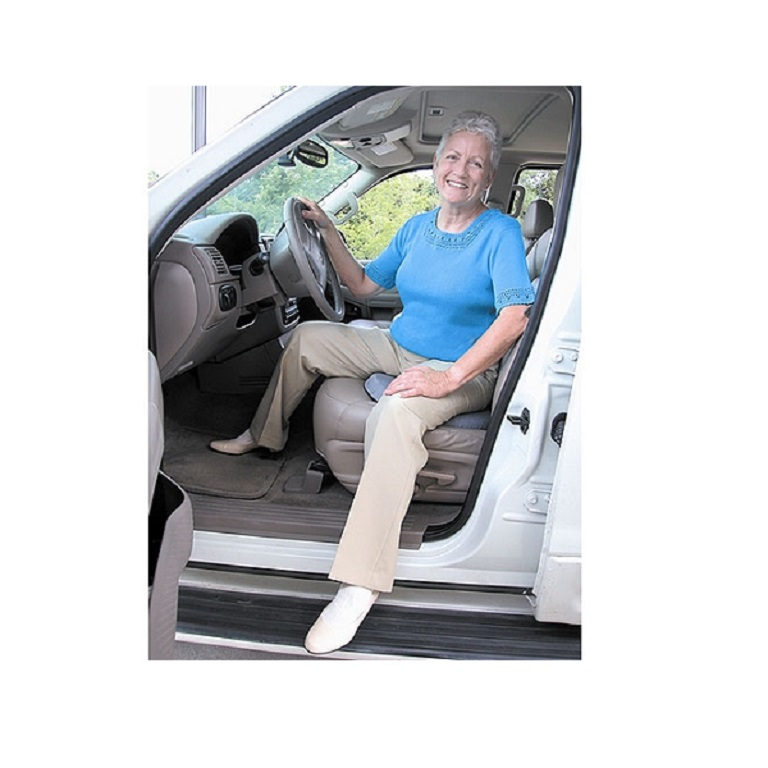 Deluxe Swivel Seat Cushion Gray