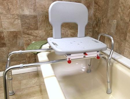 Bariatric Swivel Sliding Bath Transfer Bench Heavy Duty