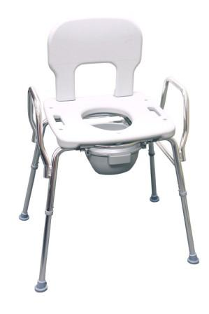 Eagle Health Heavy Duty Bariatric Commode Shower Chair : 3 in 1 ...