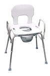 Eagle Health Heavy Duty Bariatric Commode Shower Chair