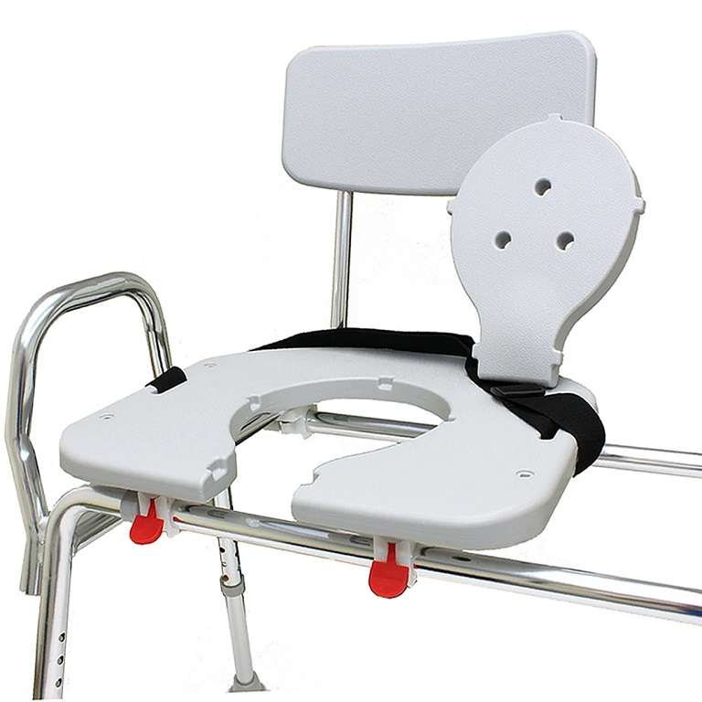 Snap N Save Sliding Transfer Bench With Molded Cut Out