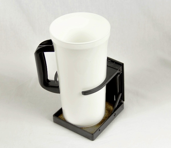 Freedom Wheelchair Cup Holder with Square Tubing Clamp
