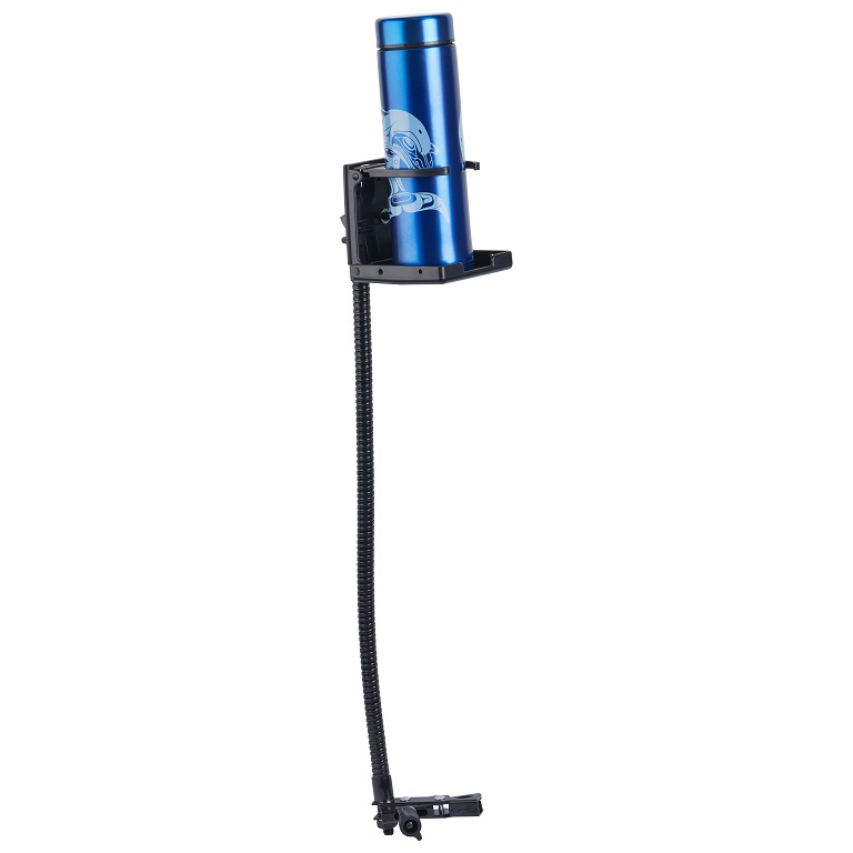 Freedom Drink Holder with Long Arm Clamp
