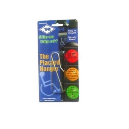 Handicap Placard Hanger : rearview mirror accessory on