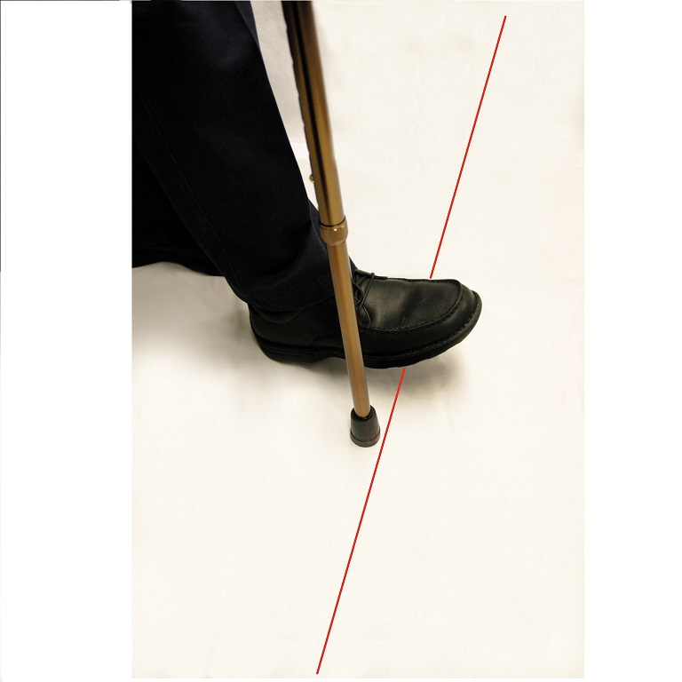 Laser-Walking-Cane