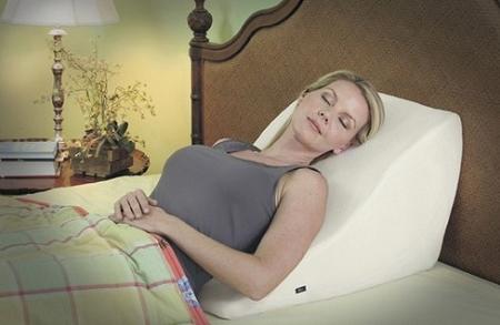Contour Back Wedge Massage Pillow