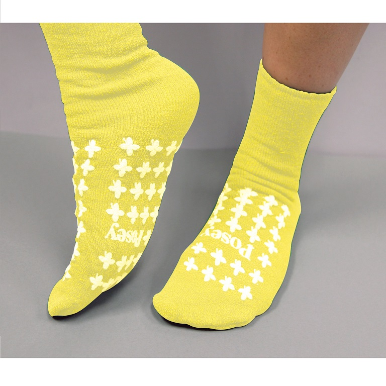Posey Fall Management Large Socks Slipper Socks For Men