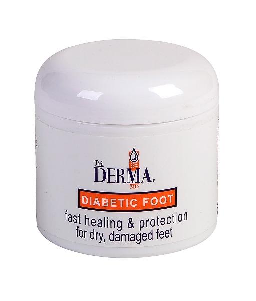 Triderma Diabetic Foot Defense Healing Cream 4oz jar