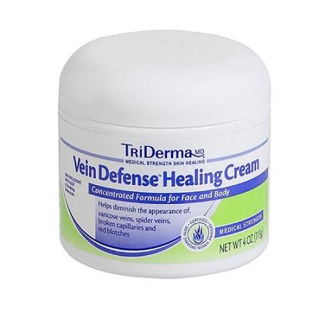 TriDerma Vein Defense Healing Cream 4oz Jar