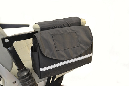 Deluxe Saddle Armrest Bag Wheelchair Arm Rest Bag