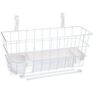 Deluxe Walker Basket with Stabilizing Bars