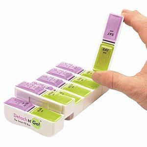 Apex Detach-N-Go Jumbo Pill Box