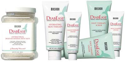 Diabease Diabetic Foot and Skin Care Products