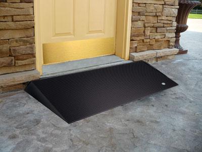 Ez Access 1 5 Inch Beveled Rubber Threshold Ramp