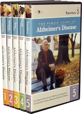 The Family Guide to Alzheimer's Disease DVD Video Series