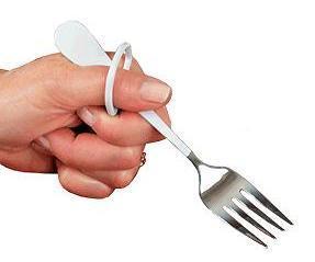 Finger Loop Salad Fork