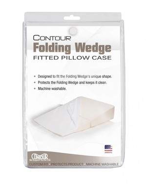 Contour Folding Wedge Pillow Case