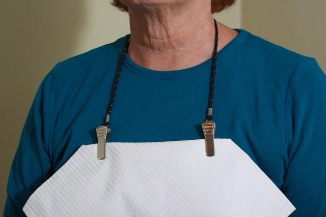 Granny Jo Adjustable Napkin Clip