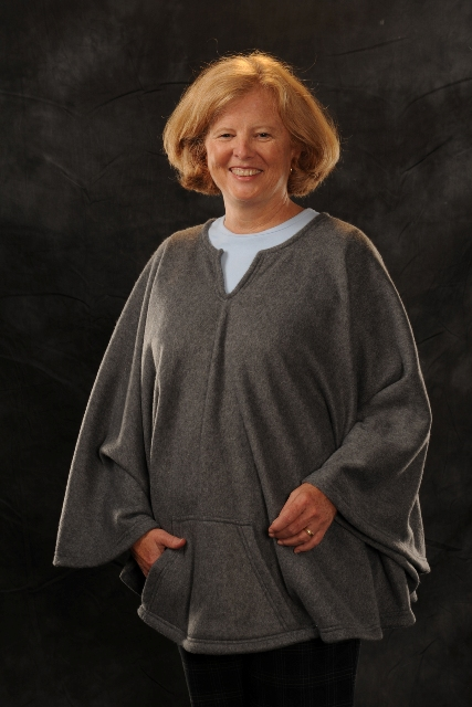 Fleece Wheelchair Poncho