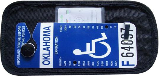 HandiCard Handicapped Parking Permit Display