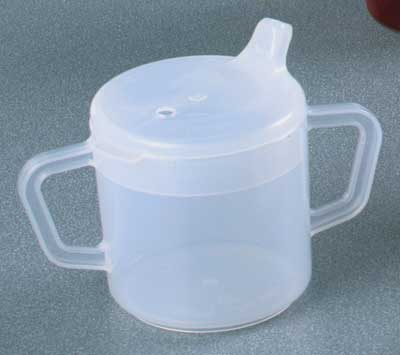 Independence Double Handle Cup With Lids Two Handle