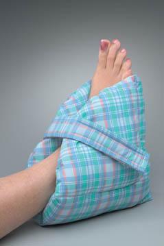 Large Pastel Plaid Posey Heel Pillow
