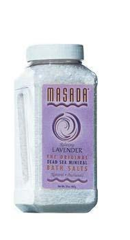 Lavender Scented Dead Sea Mineral Bathing Salt - Discontinued